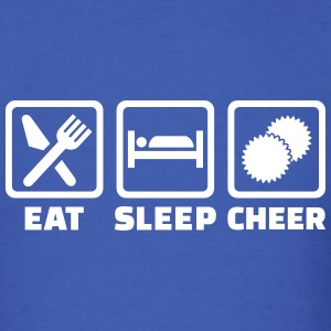 Eat sleep cheer T-Shirts - Men's T-Shirt