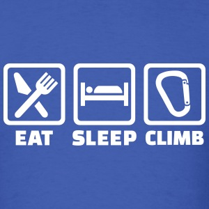 Eat Sleep climb T-Shirts - Men's T-Shirt