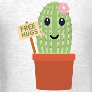 kaktus free hugs - Men's T-Shirt