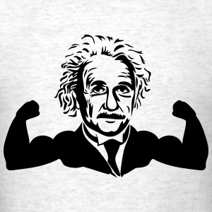 Muscle Einstein T-Shirts - Men's T-Shirt