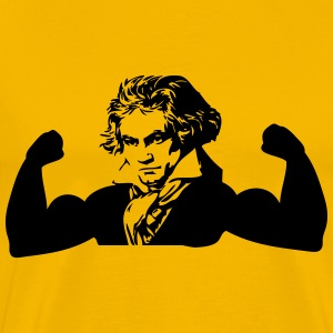 Muscle Beethoven T-Shirts - Men's Premium T-Shirt