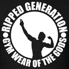 Ripped Generation Badge Logo T-Shirt