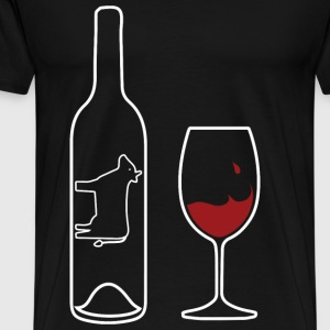 Wine Uncorked Red - Men's Premium T-Shirt