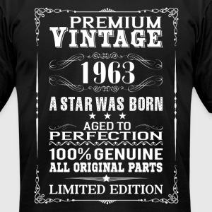 PREMIUM VINTAGE 1963 T-Shirts - Men's T-Shirt by American Apparel