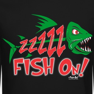 Fish On! Long Sleeve Shirts - Crewneck Sweatshirt