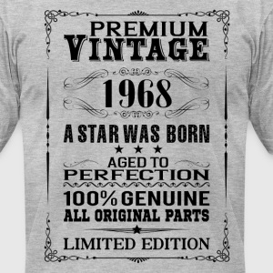 PREMIUM VINTAGE 1968 T-Shirts - Men's T-Shirt by American Apparel