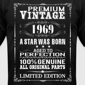 PREMIUM VINTAGE 1969 T-Shirts - Men's T-Shirt by American Apparel