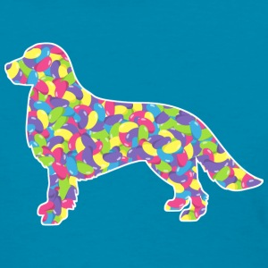 Golden Retriever, Easter Jellybean - Women's T-Shirt