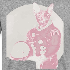 Space Cat - Men's Premium T-Shirt