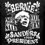 Design ~ Bernie Sanders for President 60's style t shirt