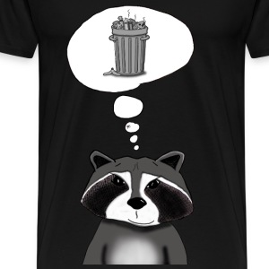 Cool Raccoon - Men's Premium T-Shirt