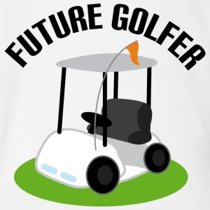 Future Golfer Golf Cart Baby Bodysuits - Short Sleeve Baby Bodysuit