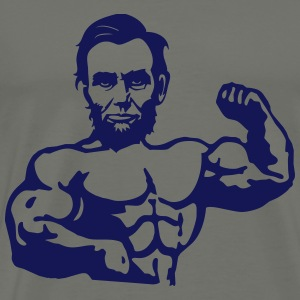 Muscle Lincoln T-Shirts - Men's Premium T-Shirt