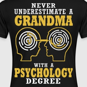 Psychology Grandma - Women's Premium T-Shirt