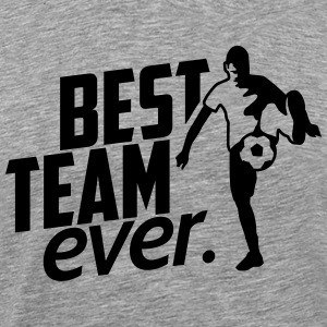 soccer team T-Shirts - Men's Premium T-Shirt