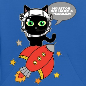 Space Cat - Houston we have a problem - Kids' Hoodie