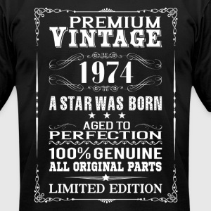 PREMIUM VINTAGE 1974 T-Shirts - Men's T-Shirt by American Apparel