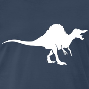 Dinosaur with comb Shirt - Men's Premium T-Shirt
