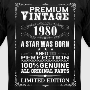 PREMIUM VINTAGE 1980 T-Shirts - Men's T-Shirt by American Apparel