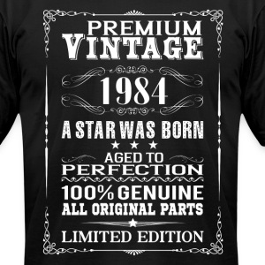PREMIUM VINTAGE 1984 T-Shirts - Men's T-Shirt by American Apparel