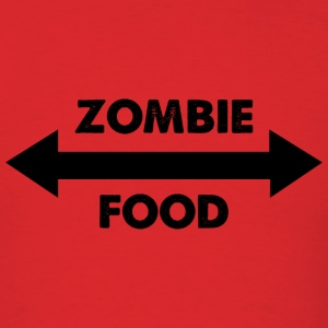 Zombie Food - Men's T-Shirt