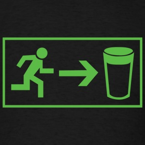 Beer Exit - Men's T-Shirt