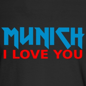 Metal Munich I love you Long Sleeve T-Shirt - Men's Long Sleeve T-Shirt