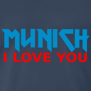 Metal Munich I love you Premium T-Shirt - Men's Premium T-Shirt