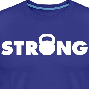 Kettlebell STRONG T-Shirts - Men's Premium T-Shirt