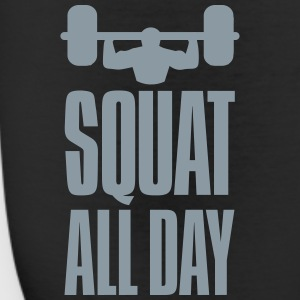 Funny Gym Squat All Day Bottoms - Leggings