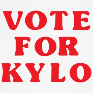 Vote for Kylo.png T-Shirts - Men's Ringer T-Shirt