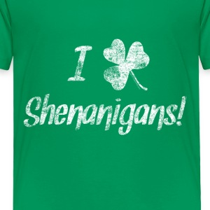 I Love Clover Shenanigans St. Patrick's Day Baby & - Toddler Premium T-Shirt