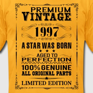 PREMIUM VINTAGE 1997 T-Shirts - Men's T-Shirt by American Apparel