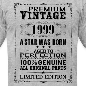 PREMIUM VINTAGE 1999 T-Shirts - Men's T-Shirt by American Apparel