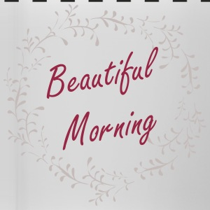 Beautiful Morning White Cup. - Panoramic Mug