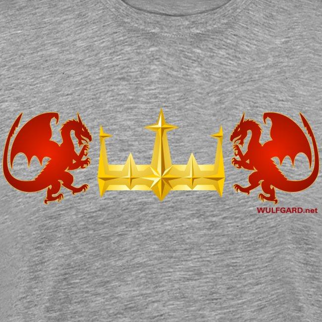 Wulfgard Tom Drake's Breastplate Men's Premium T-Shirt
