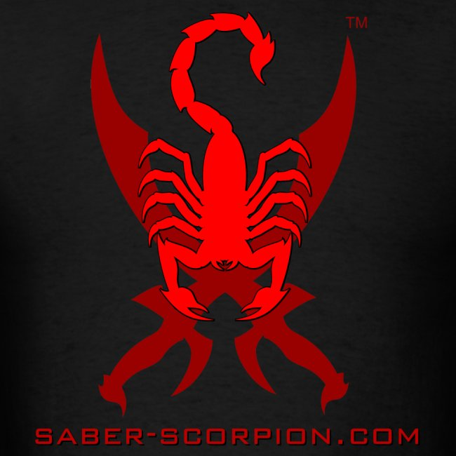 Saber-Scorpion's Lair Logo Men's T-Shirt