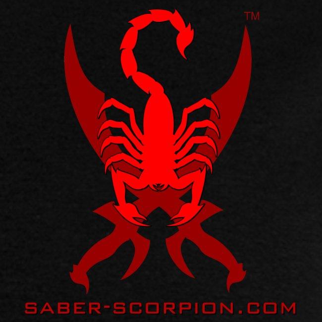 Saber-Scorpion's Lair Logo (Smaller) Men's T-Shirt