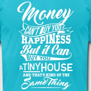 TINY HOUSE MEN AA T-SHIRT - Men's T-Shirt by American Apparel