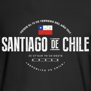 Santiago de Chile Long Sleeve Shirts - Men's Long Sleeve T-Shirt
