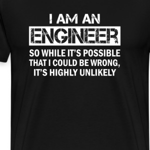 I'm An Engineer - Men's Premium T-Shirt