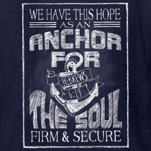 Anchor Hebrews Chalk Art Kids' Shirts - Kids' T-Shirt