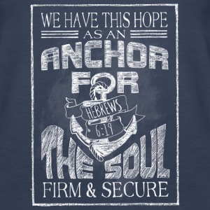 Anchor Hebrews Chalk Art Tanks - Women's Premium Tank Top
