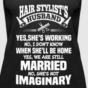 Hairstylist's Husband - Women's Premium Tank Top