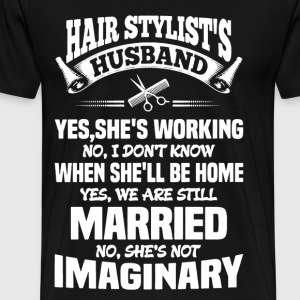 Hairstylist's Husband - Men's Premium T-Shirt