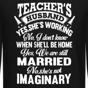 Teacher's Husband - Crewneck Sweatshirt