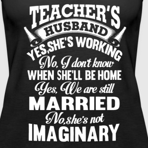 Teacher's Husband - Women's Premium Tank Top