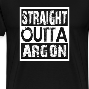 STRAIGHT OUTTA ARGON - Men's Premium T-Shirt