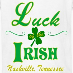 Nashville Irish Luck Kid's T-Shirts