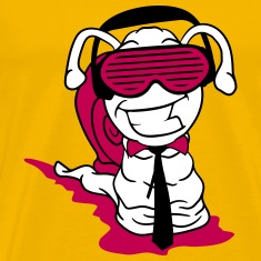 party dj club funky cool sunglasses headphones mus T-Shirts